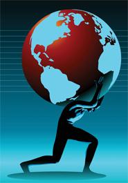 atlas globe
